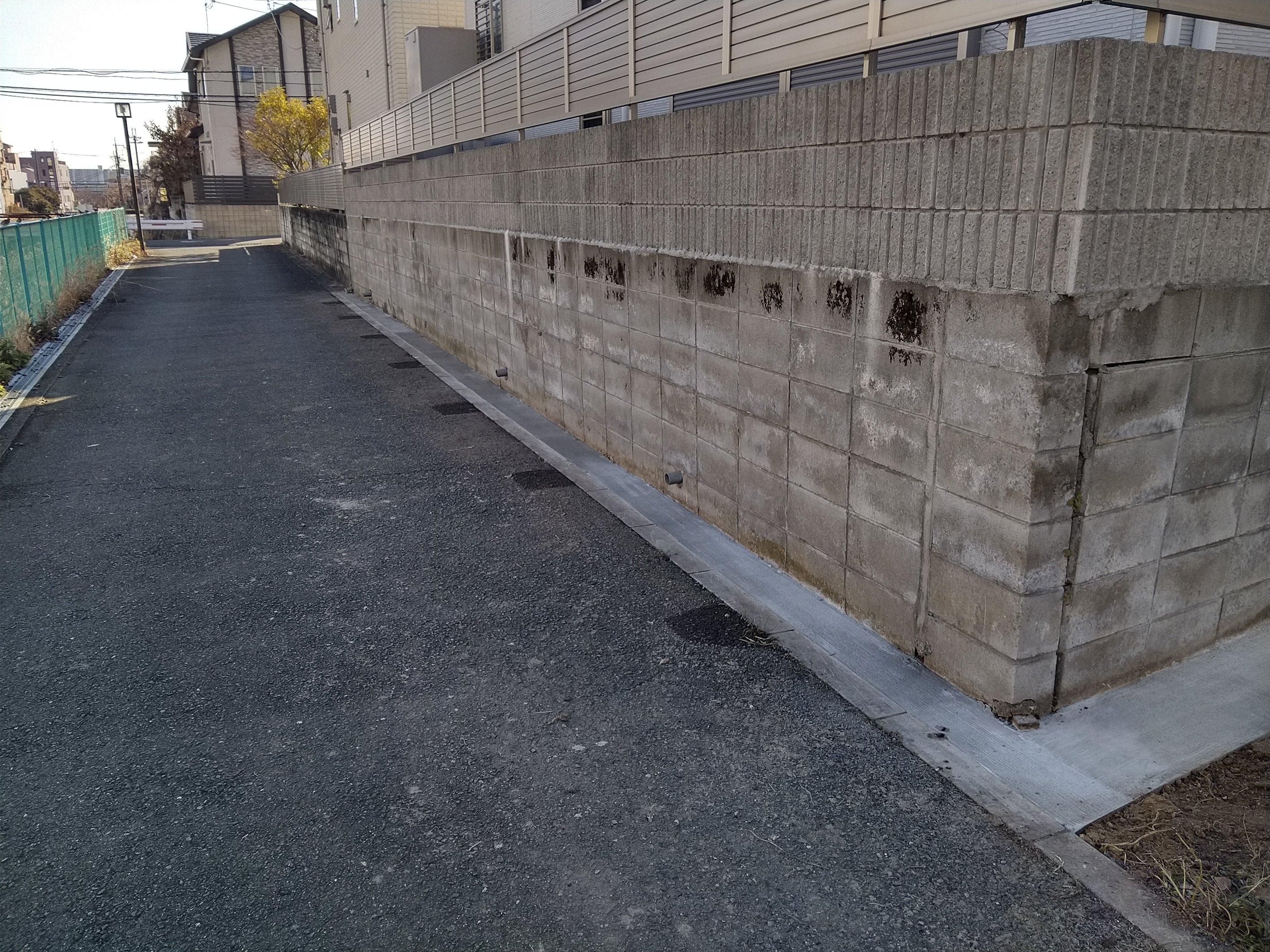 フェンス撤去工事《吹田市》